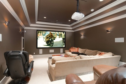 media room at 460 Westholme Road, West Bay, West Vancouver