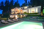 pool at 460 Westholme Road, West Bay, West Vancouver
