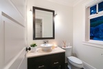 powder room at 460 Westholme Road, West Bay, West Vancouver