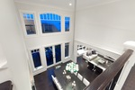 dining room from above at 460 Westholme Road, West Bay, West Vancouver