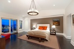 master bedroom at 460 Westholme Road, West Bay, West Vancouver