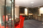 wine room at 460 Westholme Road, West Bay, West Vancouver