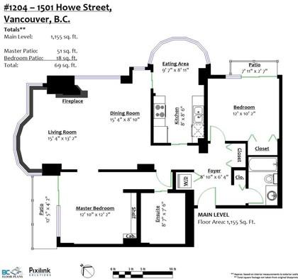 1501-howe-street-yaletown-vancouver-west-20 at 1204 - 1501 Howe Street, Yaletown, Vancouver West