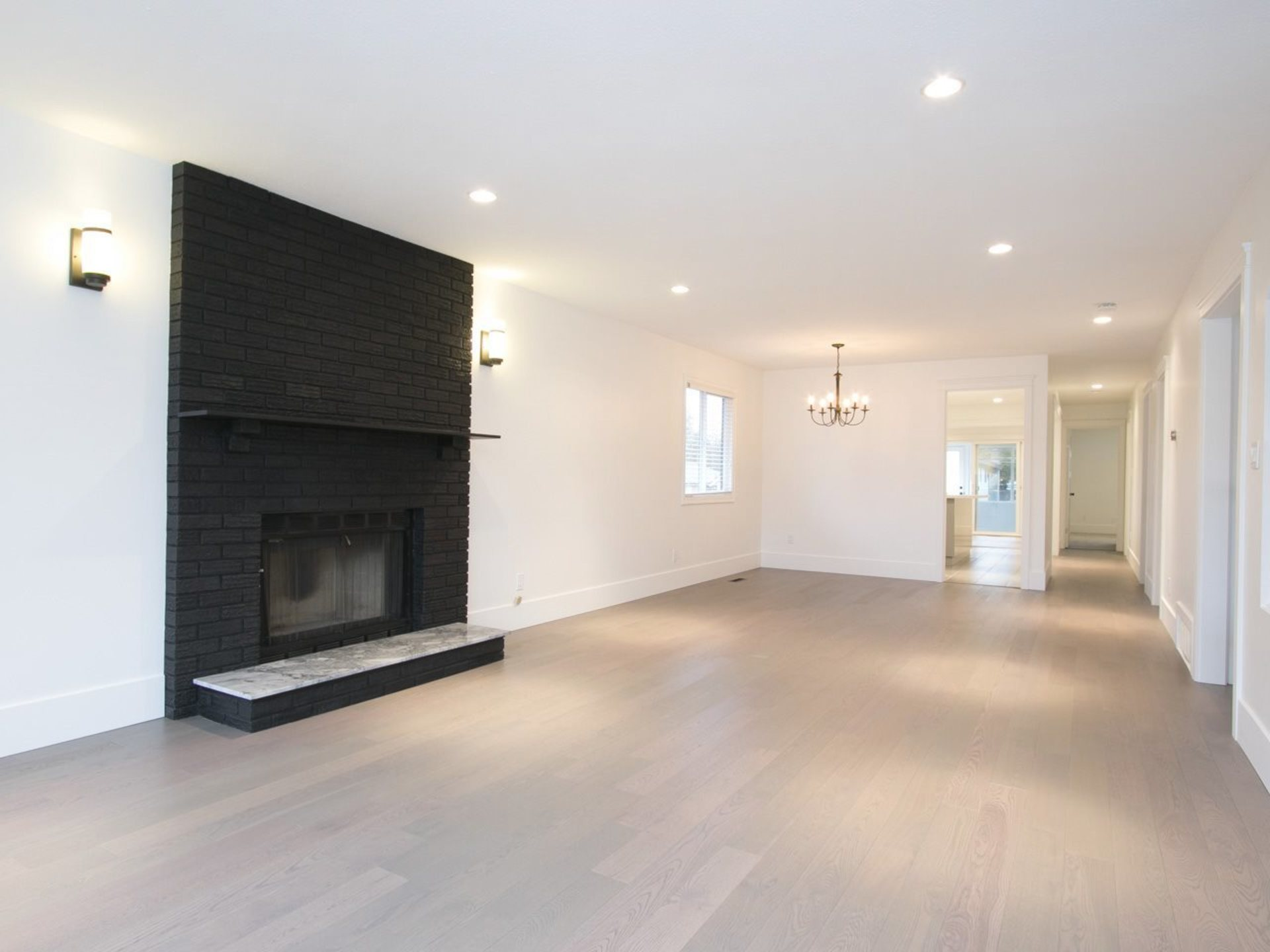 Striking wood burning fireplace at 775 E 39th Avenue, Fraser VE, Vancouver East
