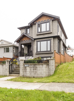 High corner lot at 1304 E 35th Avenue, Knight, Vancouver East