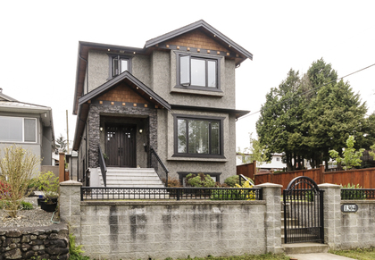 Exterior front at 1304 E 35th Avenue, Knight, Vancouver East