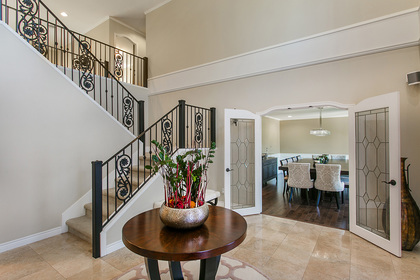 Foyer at 6726 Arbutus Street, Southlands, Vancouver West