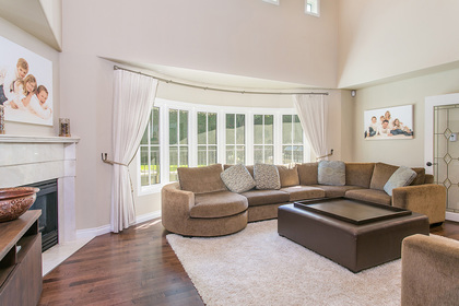 Living Room at 6726 Arbutus Street, Southlands, Vancouver West