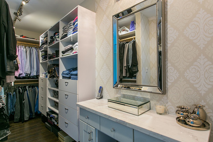 Master Walk In Closet at 6726 Arbutus Street, Southlands, Vancouver West