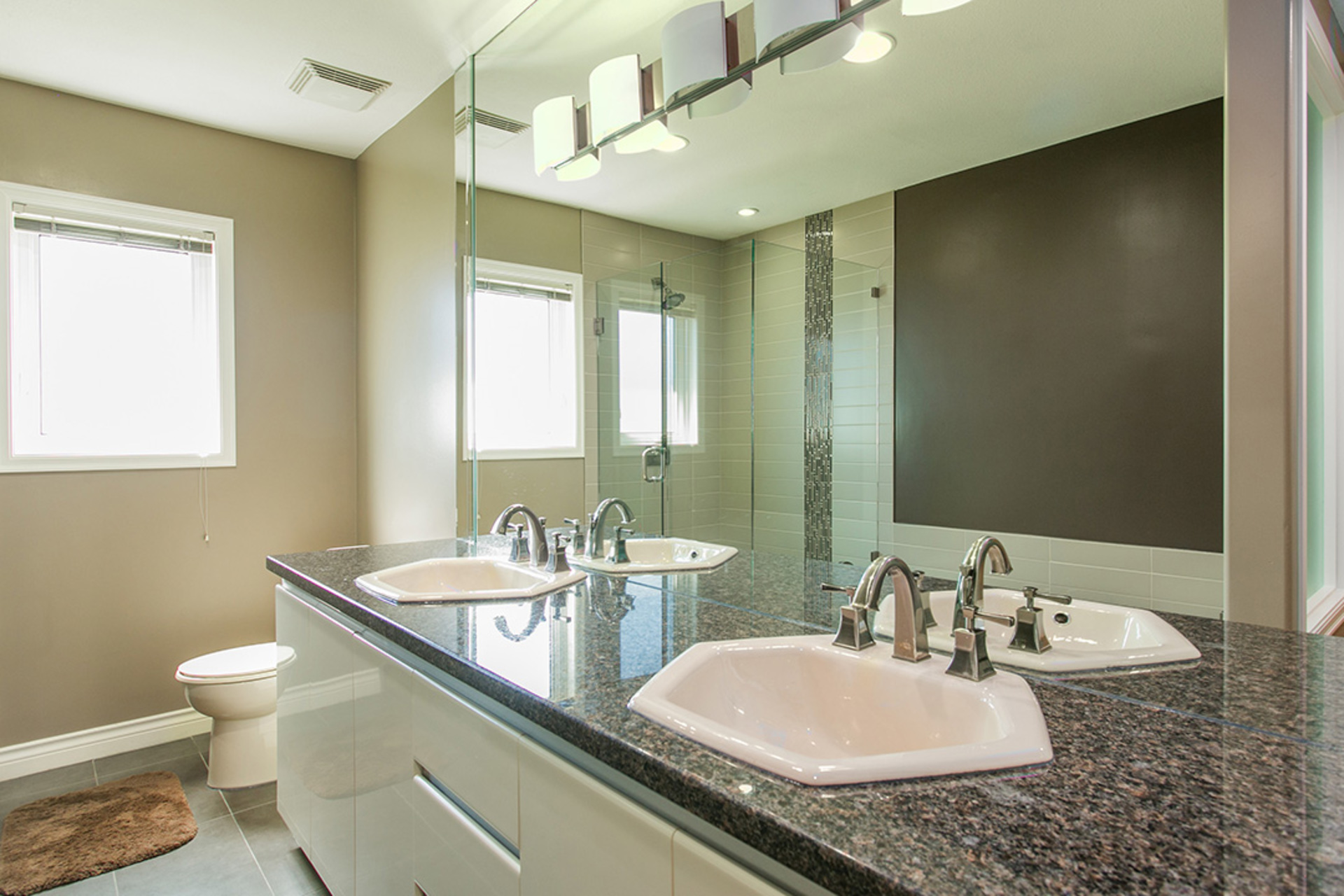 Bathroom Upper Level at 6726 Arbutus Street, Southlands, Vancouver West