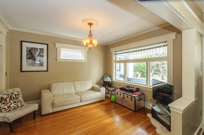 Living Room Main floor at 2617 West 7th Avenue, Kitsilano, Vancouver West