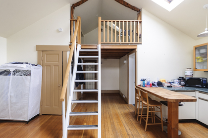 Loft style bedroom at 2617 West 7th Avenue, Kitsilano, Vancouver West