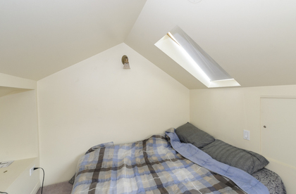 Loft bedroom at 2617 West 7th Avenue, Kitsilano, Vancouver West