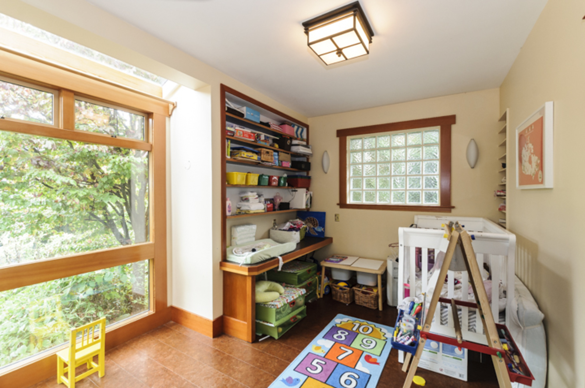 Office currently used as a nursery at 2617 West 7th Avenue, Kitsilano, Vancouver West