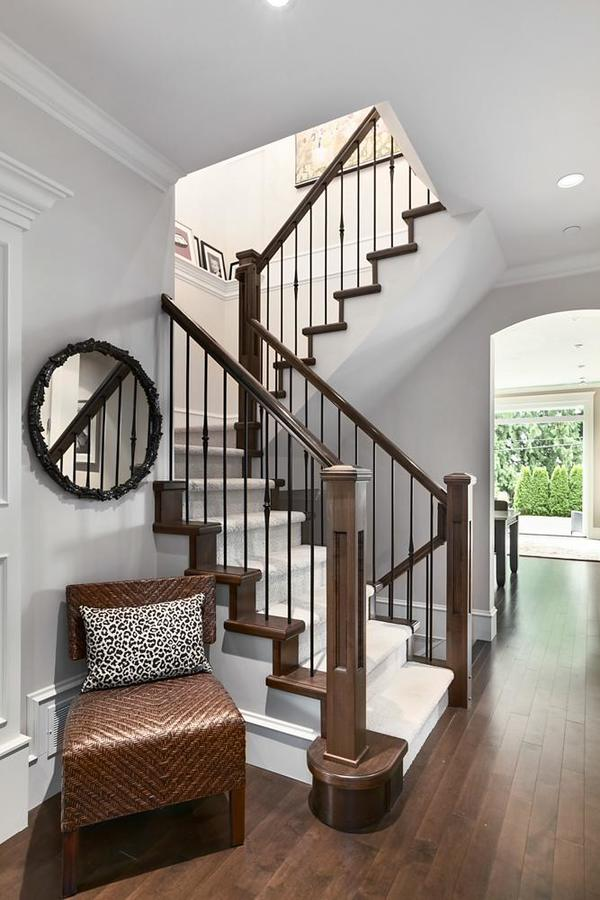 Stairwell at 1447 Ottawa Avenue, Ambleside, West Vancouver