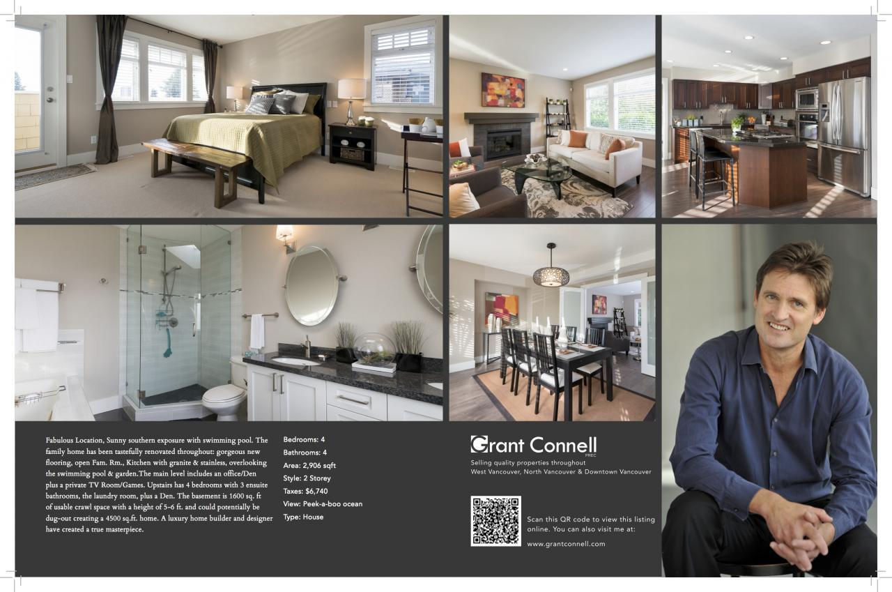 Listing Feature Sheet 11 X 17 haywood at 1426 Haywood Ave, Ambleside, West Vancouver