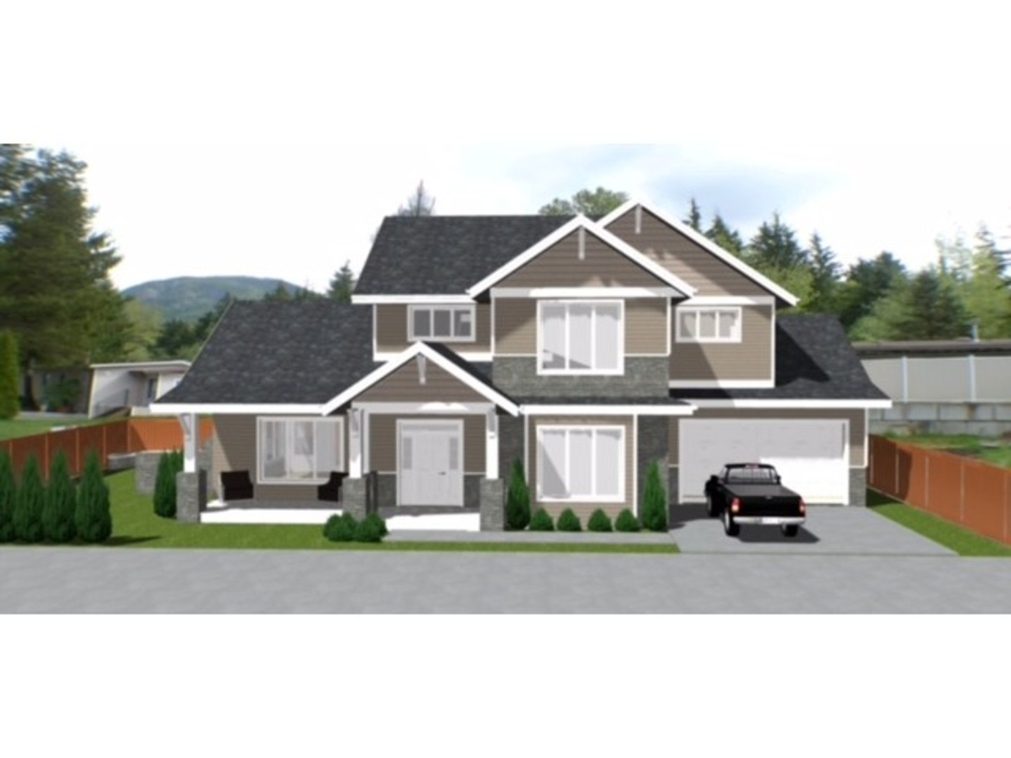 front view at 12 - 3295 Sunnyside Road, Anmore, Port Moody