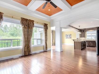living room  at 4050 Joseph Place, Burke Mountain, Coquitlam