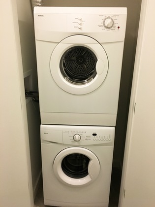 Laundry at 207 - 150 E Cordova Street, Downtown VW, Vancouver West