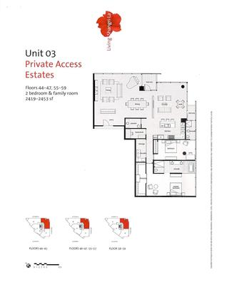 unit-03-private-access-estates-floors-44-47-55-59-2-bedroom-family-room-2419-2453-sq-ft-page-001 at 4503 - 1128 W Georgia Street, West End VW, Vancouver West