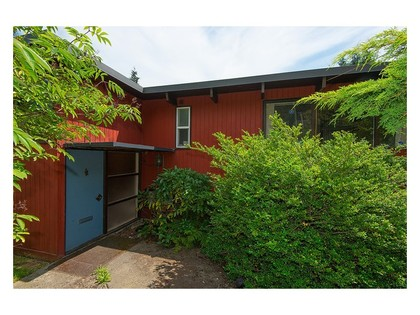 Back side at 780 Anderson Crescent, Sentinel Hill, West Vancouver