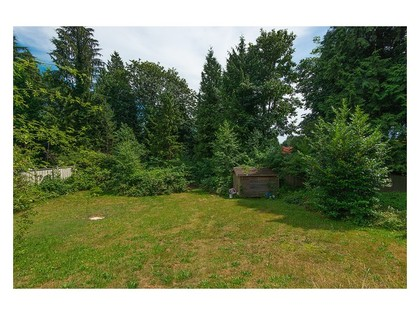 Backyard at 780 Anderson Crescent, Sentinel Hill, West Vancouver
