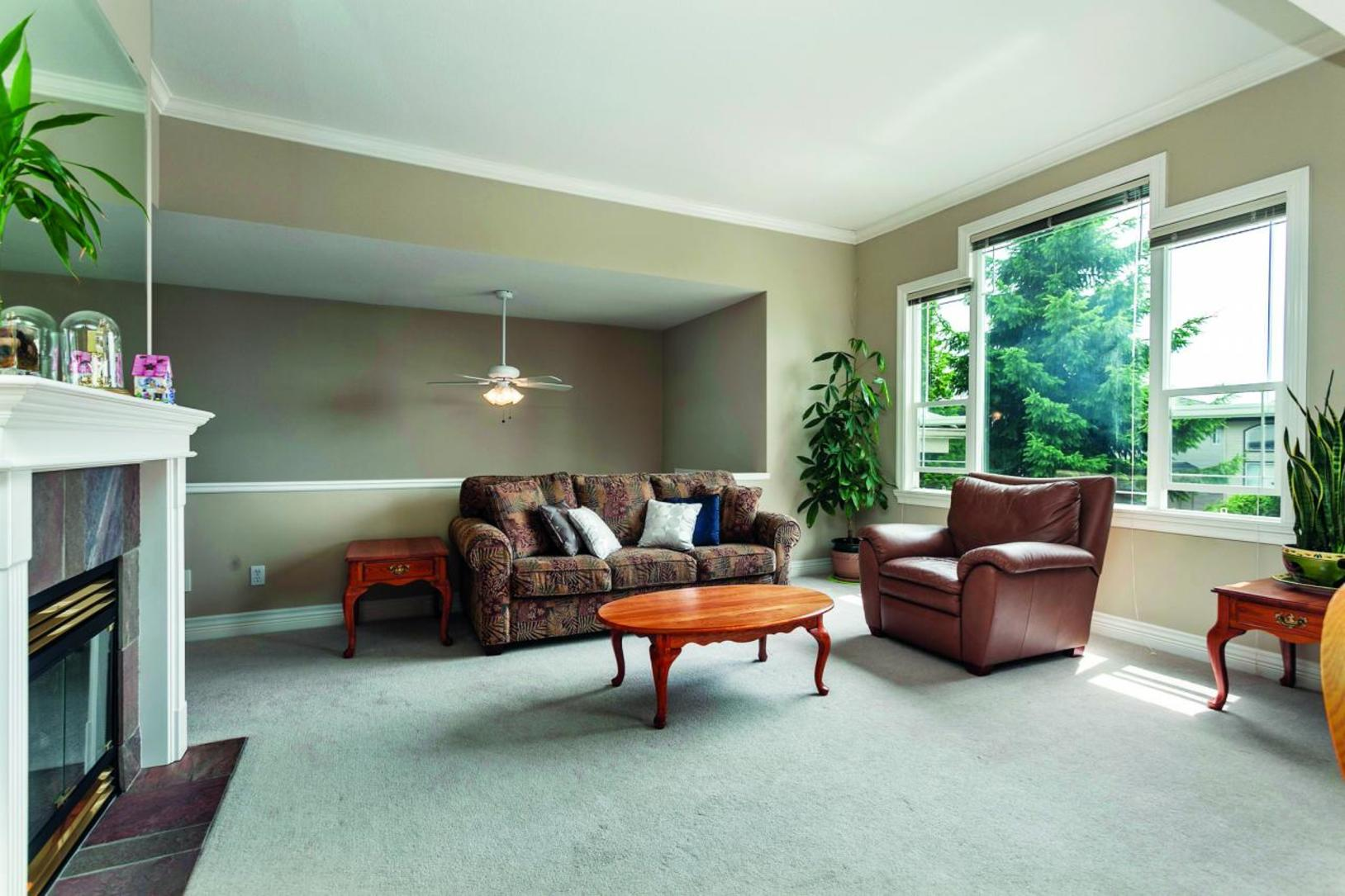 Living Room at 3057 Sienna Court, Coquitlam
