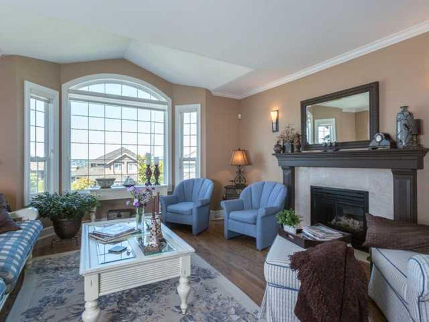 Living Room at 2654 Fortress Drive, Citadel PQ, Port Coquitlam