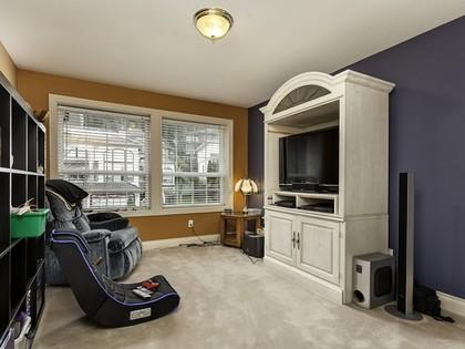 TV room at 2558 Diamond Crescent, Westwood Plateau, Coquitlam