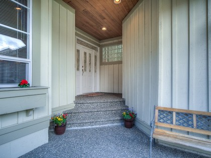 Entrance at 15338 Sequoia Drive, Heritage Woods PM, Port Moody