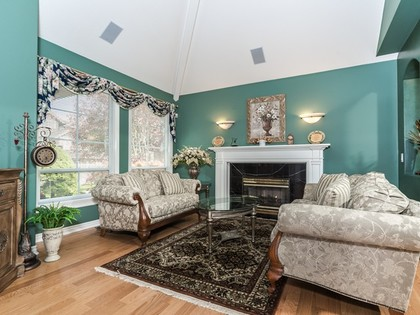 Living Room at 15338 Sequoia Drive, Heritage Woods PM, Port Moody