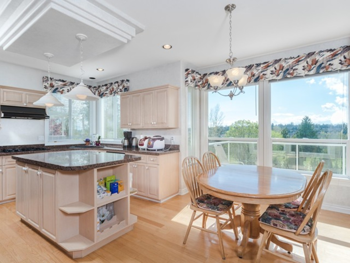Kitchen-view at 15338 Sequoia Drive, Heritage Woods PM, Port Moody