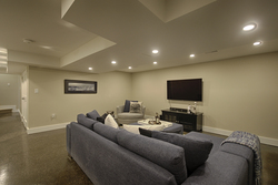 Recreation Room at 12 Mallow Road, Banbury-Don Mills, Toronto