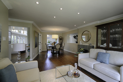 Living & Dining Room at 12 Mallow Road, Banbury-Don Mills, Toronto