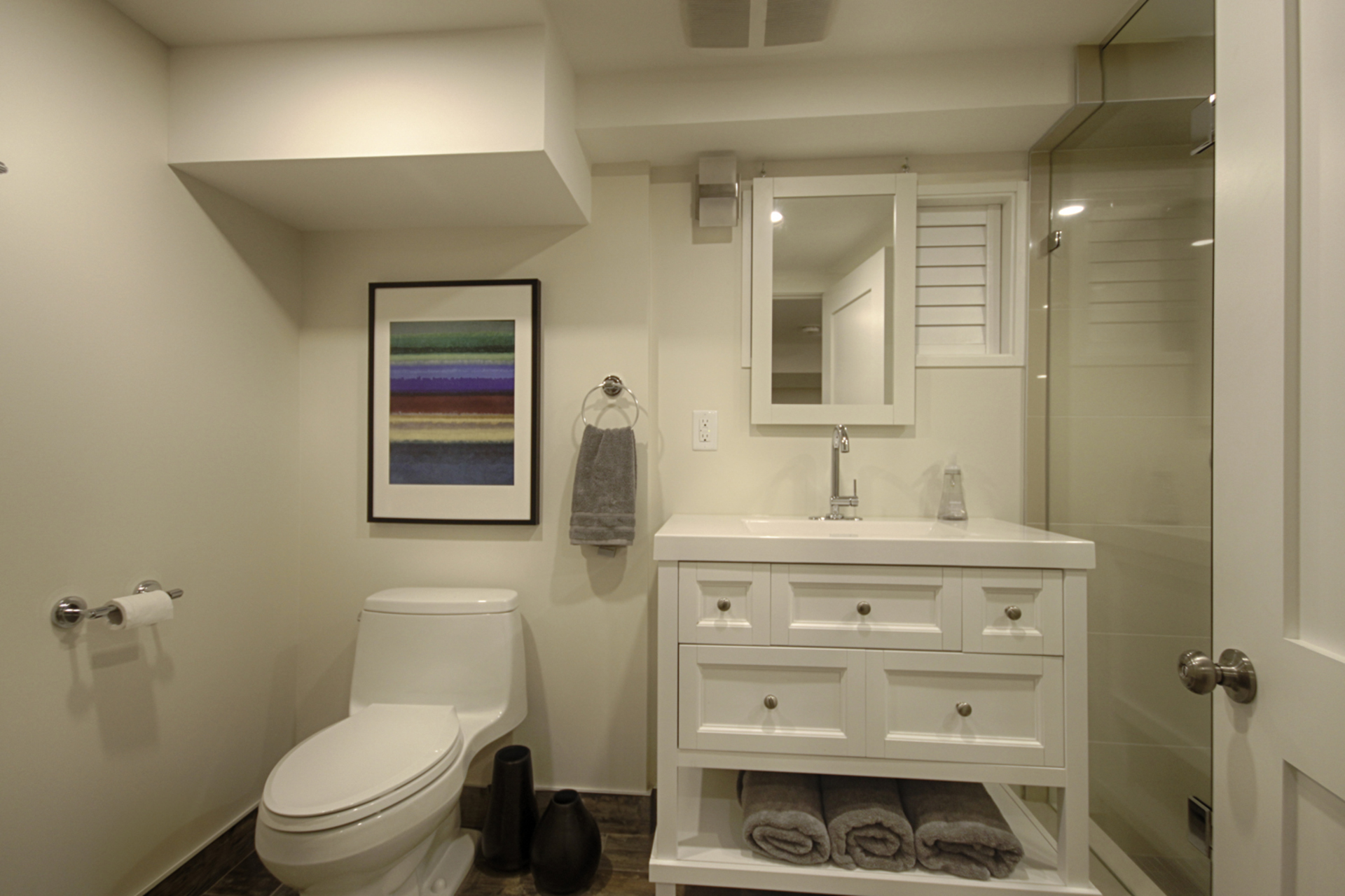 3 Piece Bathroom at 12 Mallow Road, Banbury-Don Mills, Toronto