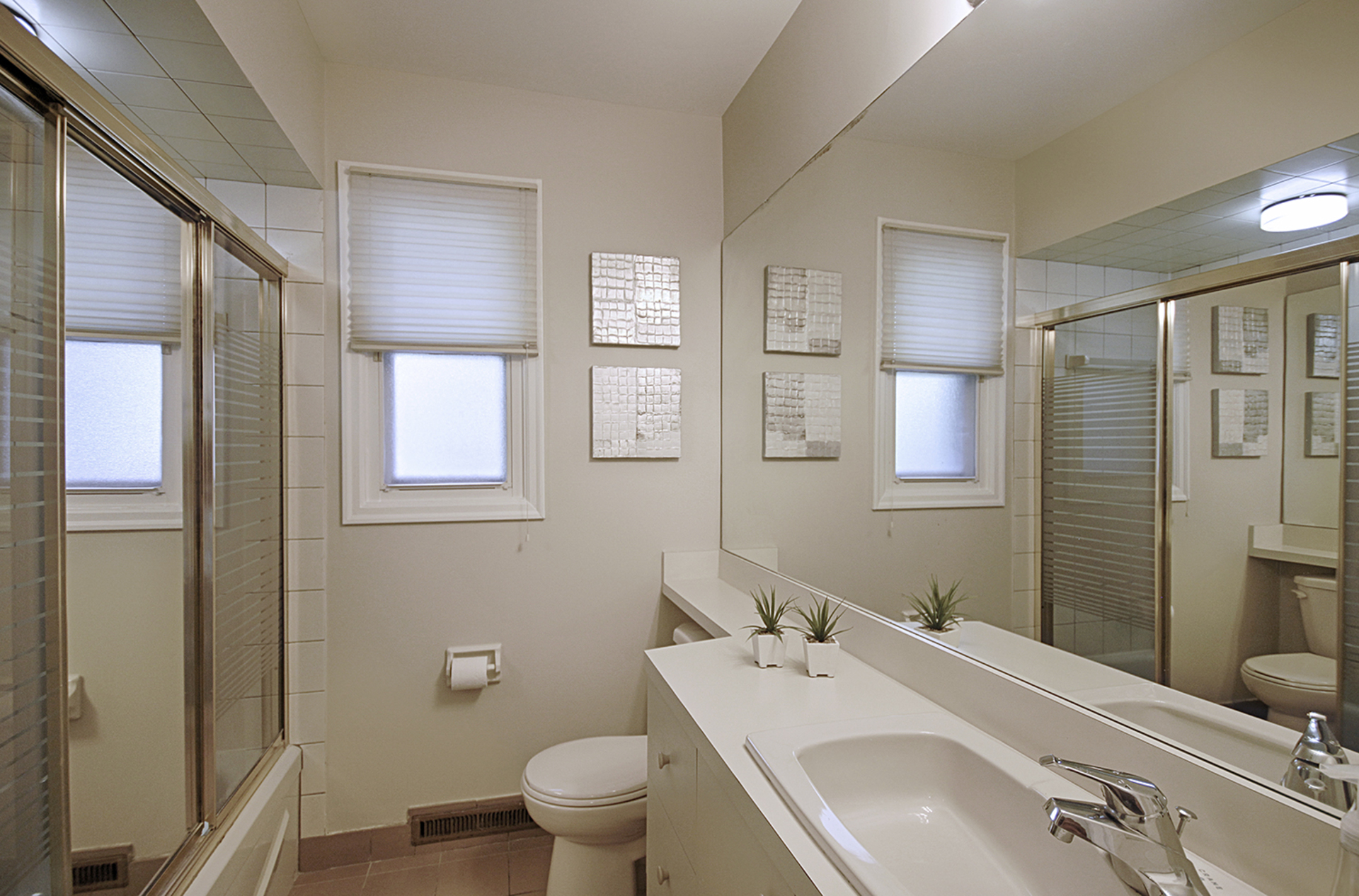 4 Piece Bathroom at 12 Mallow Road, Banbury-Don Mills, Toronto