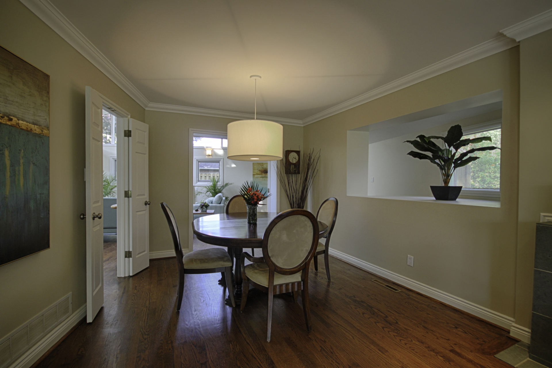 Dining Room at 12 Mallow Road, Banbury-Don Mills, Toronto