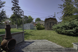 Backyard at 33 Archwood Crescent, Wexford-Maryvale, Toronto