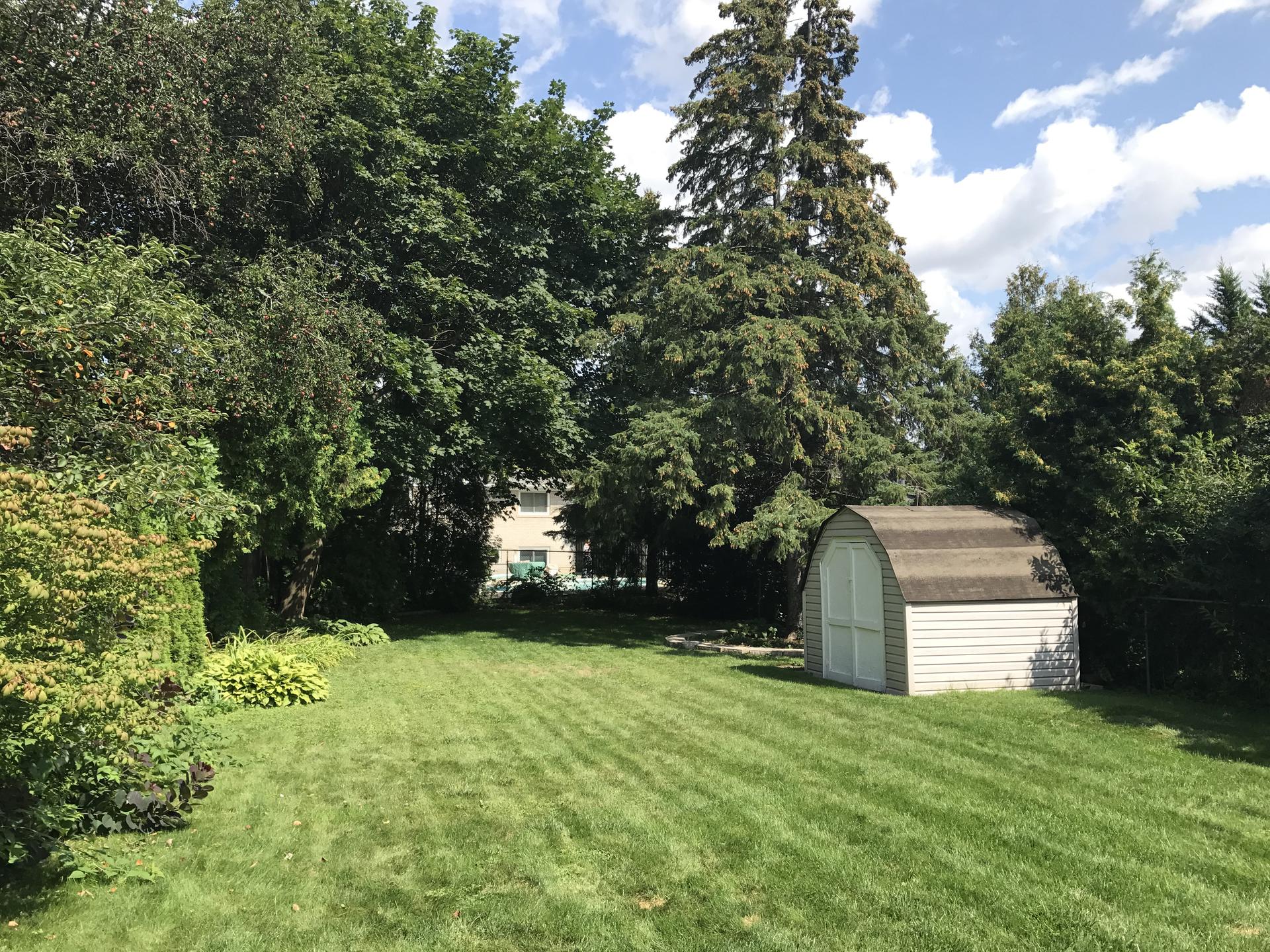 Backyard at 6 Stubbs Drive, St. Andrew-Windfields, Toronto