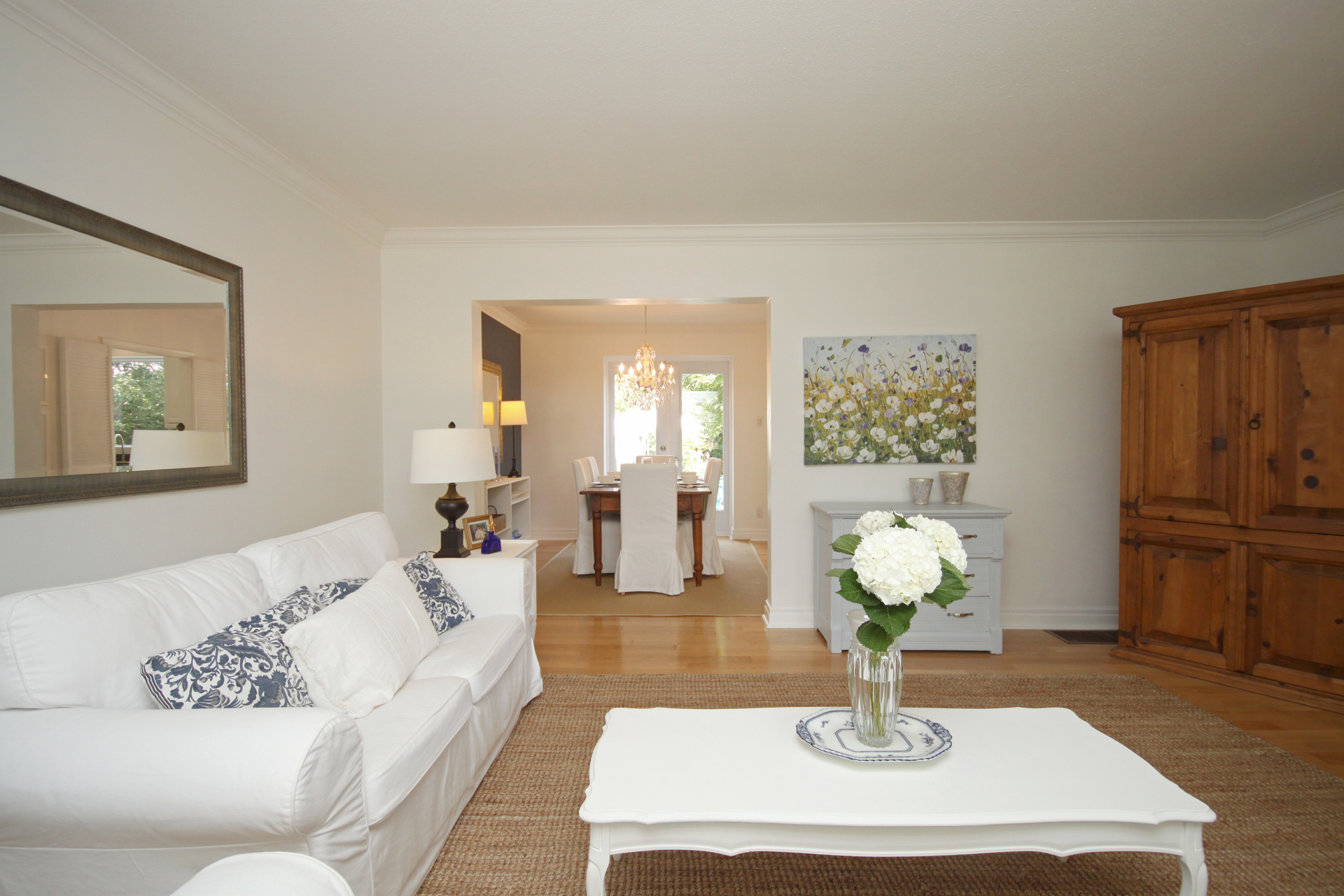 Living Room at 6 Stubbs Drive, St. Andrew-Windfields, Toronto