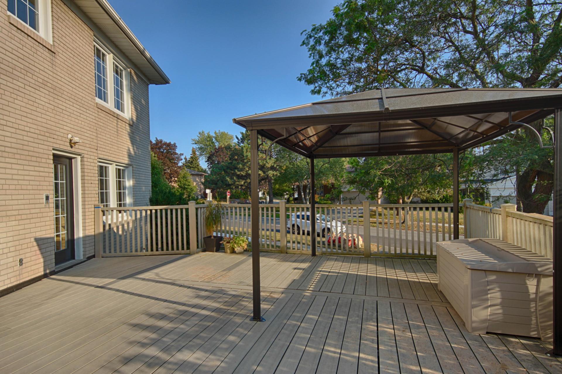 Backyard at 166 Underhill Drive, Parkwoods-Donalda, Toronto