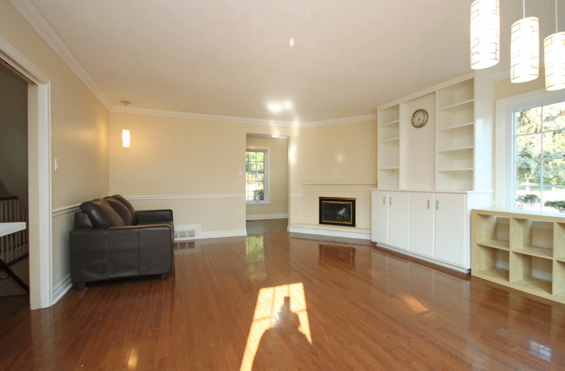 Living Room at 166 Underhill Drive, Parkwoods-Donalda, Toronto