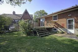 Backyard at 11 Cleta Drive, Kennedy Park, Toronto