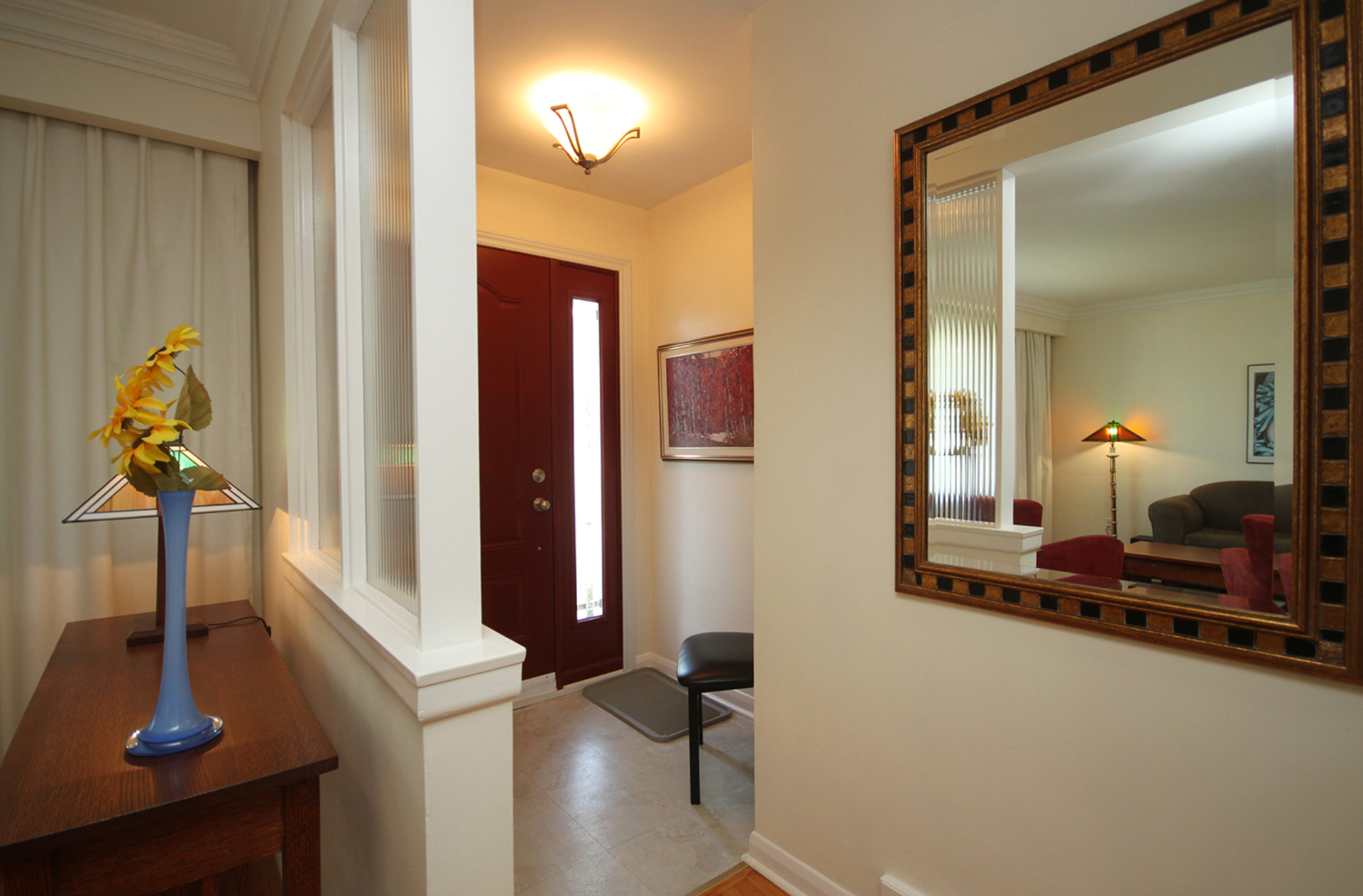 Foyer at 11 Cleta Drive, Kennedy Park, Toronto