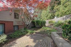 Backyard at 21 Oakley Boulevard, Bendale, Toronto