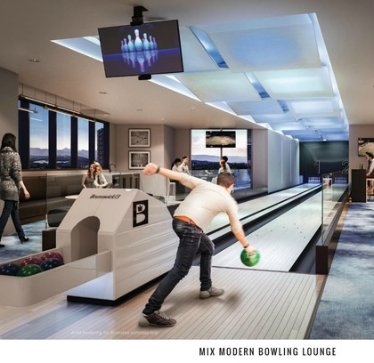 sussex-bowling-alley at 6050 Sussex Avenue, Metrotown, Burnaby South