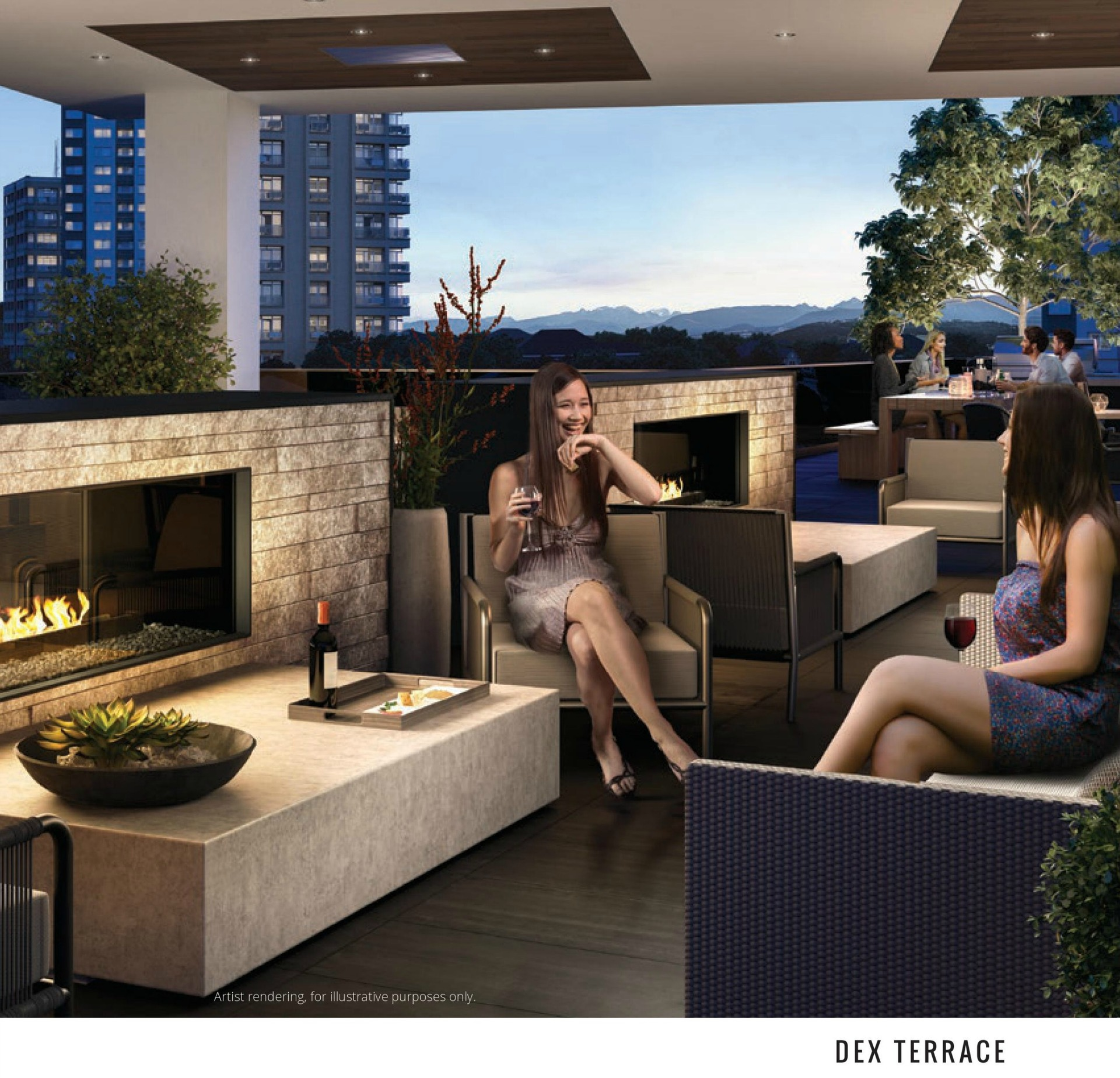sussex-fireside-lounge at 6050 Sussex Avenue, Metrotown, Burnaby South