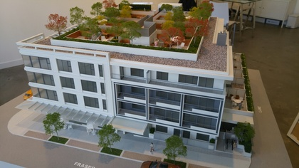 midtown-central-west-facade at 702 E Broadway, Mount Pleasant VE, Vancouver East