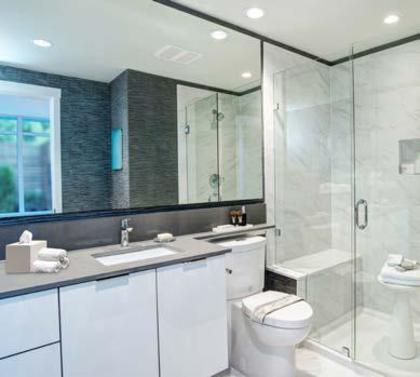 vittorio-bathroom at 6060 Marlborough Avenue, Metrotown, Burnaby South