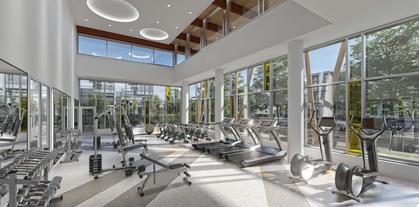 vittorio-gym at 6060 Marlborough Avenue, Metrotown, Burnaby South